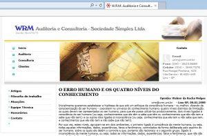 Erro Humano erro humano - O Erro Humano Site WRM 1999 300x197 - ERRO HUMANO E OS QUATRO NÍVEIS DO CONHECIMENTO